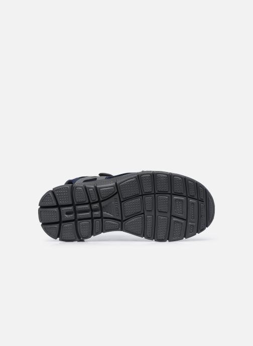 Sandalen Skechers FLEX ADVANTAGE S UPWELL schwarz ansicht von oben
