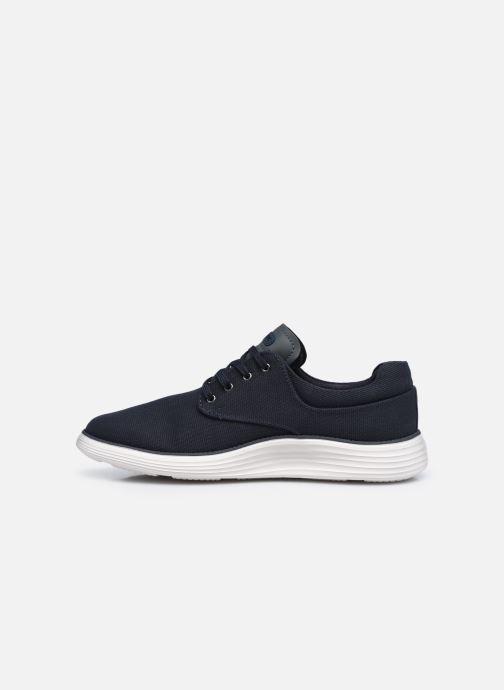 Sneaker Skechers STATUS 2.0 BURBANK blau ansicht von vorne