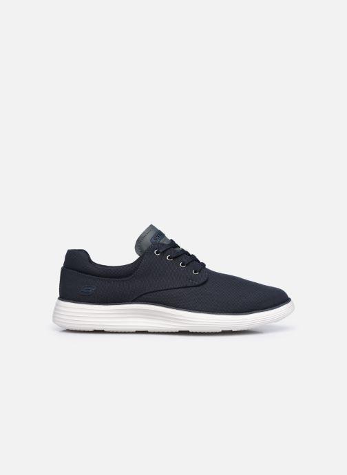Sneaker Skechers STATUS 2.0 BURBANK blau ansicht von hinten