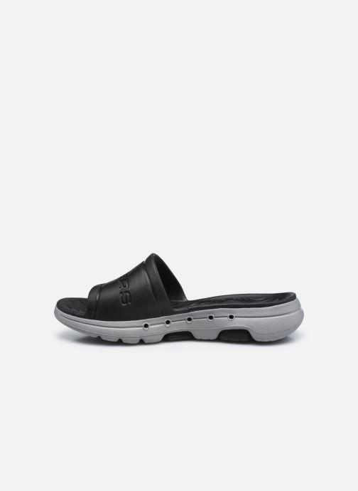 Sandalen Skechers GO WALK 5 M schwarz ansicht von vorne