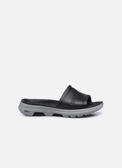 Sandalen Skechers GO WALK 5 M schwarz ansicht von hinten