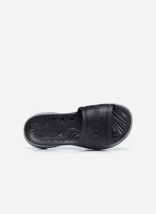 Sandalen Skechers GO WALK 5 M schwarz ansicht von links