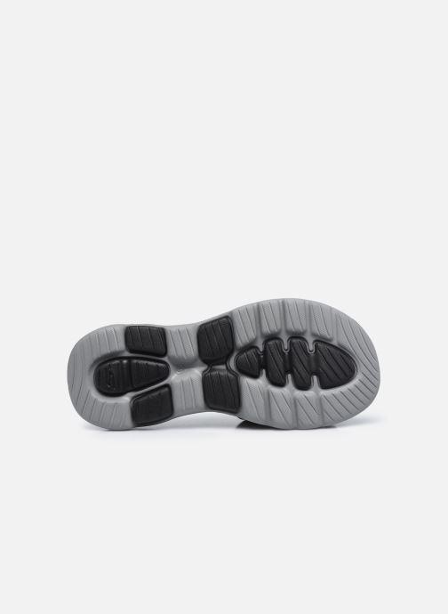 Sandalen Skechers GO WALK 5 M schwarz ansicht von oben