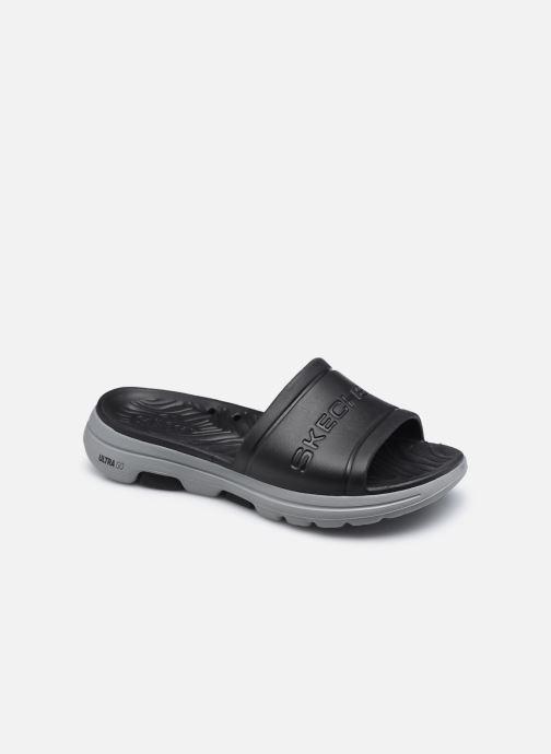 Sandales et nu-pieds Skechers GO WALK 5 M Noir vue détail/paire