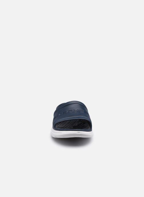Sandalen Skechers GO WALK 5 M blau schuhe getragen