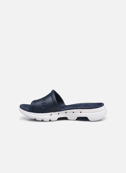 Sandalen Skechers GO WALK 5 M blau ansicht von vorne