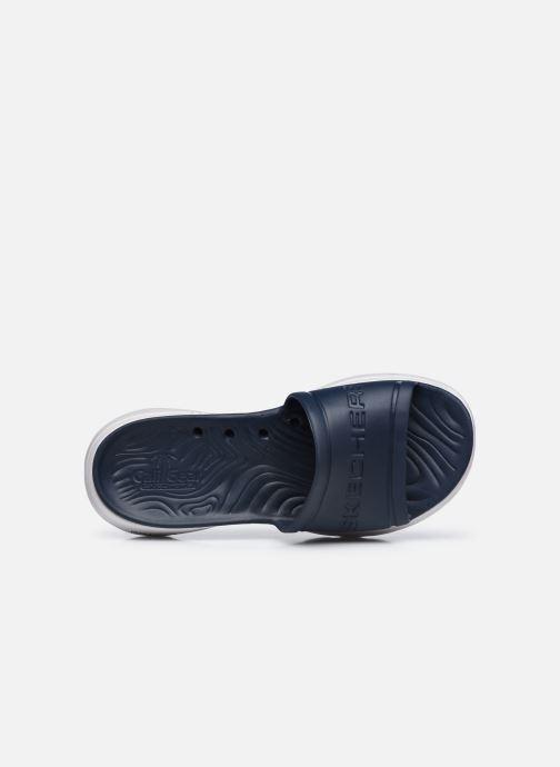 Sandalen Skechers GO WALK 5 M blau ansicht von links
