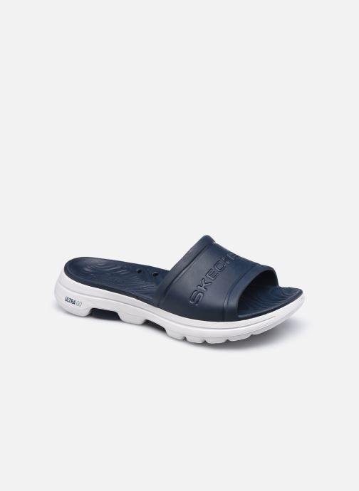 Sandales et nu-pieds Skechers GO WALK 5 M Bleu vue détail/paire
