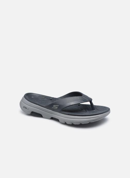 Slippers Skechers GO WALK 5 Tong Grijs detail