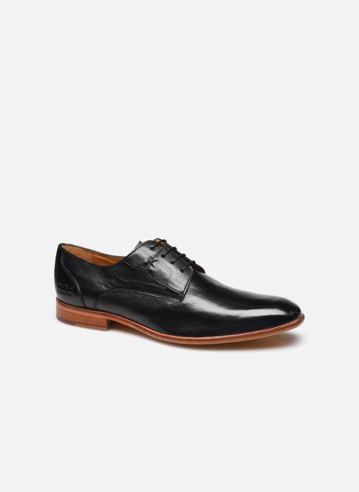 Zapatos con cordones Melvin & Hamilton Elyas 4 Negro vista de detalle / par