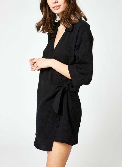 Kleding Seafolly Coastal Wrap Dress Zwart detail