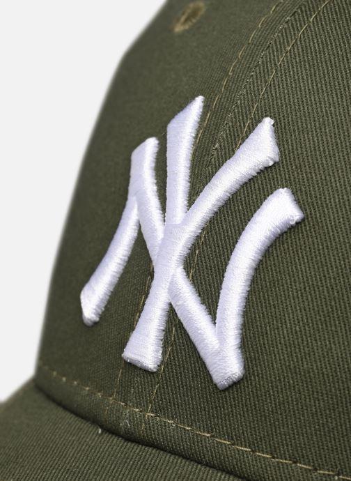 Kappe New Era League Essential 9Forty grün ansicht von vorne