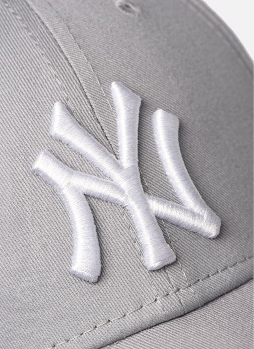 Kappe New Era League Essential 9Forty grau ansicht von vorne