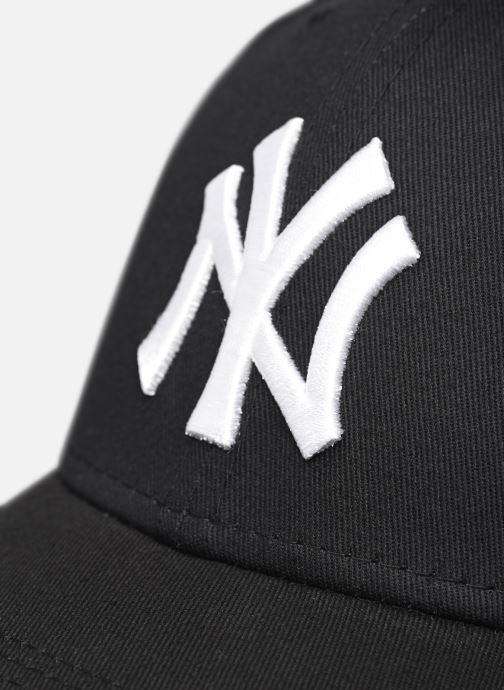 Kappe New Era League Essential 9Forty schwarz ansicht von vorne