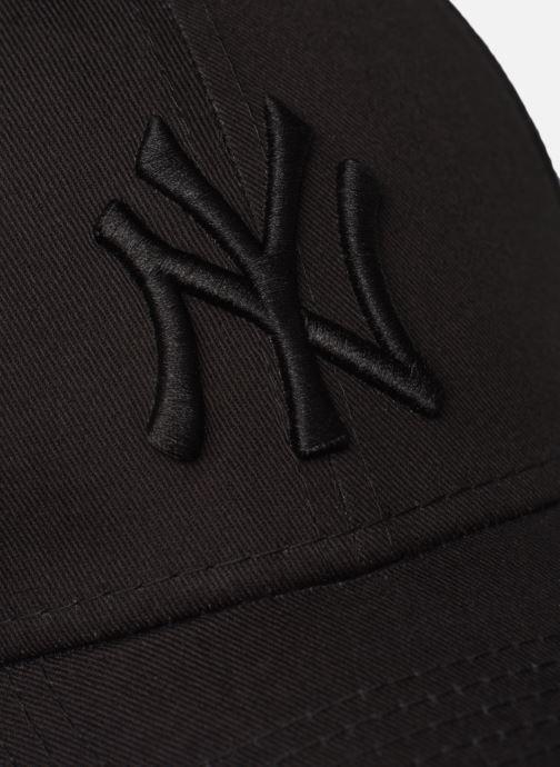 Casquettes New Era League Essential 9Forty Noir vue face