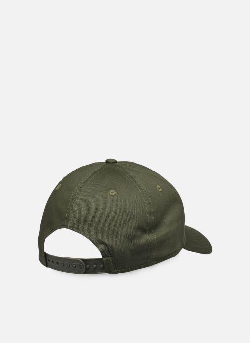 Kappe New Era League Essential 9Forty Snap grün schuhe getragen