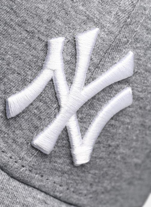Kappe New Era Jersey Essential 9Forty grau ansicht von vorne
