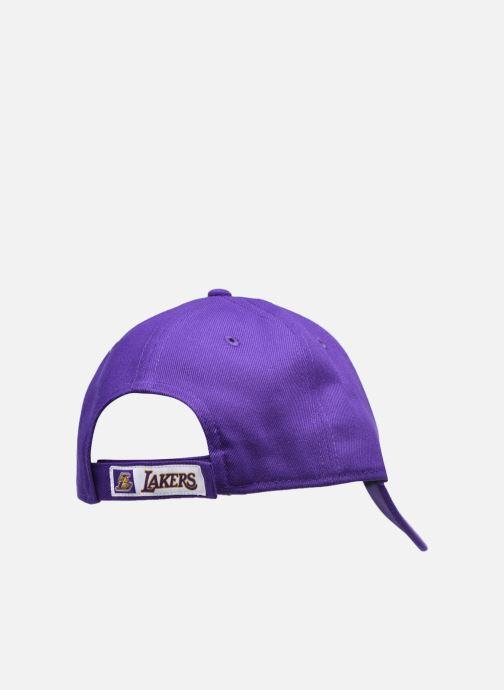 Cappellino New Era Nba The League Viola modello indossato