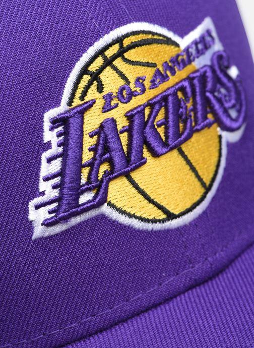 Cappellino New Era Nba The League Viola immagine frontale