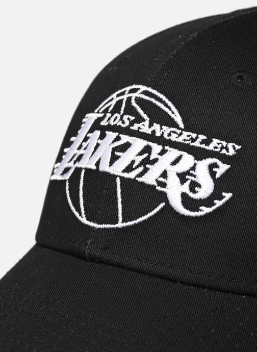 Casquettes New Era Nba League Essential 9Forty Noir vue face