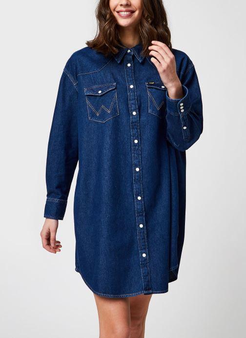 Vêtements Wrangler Denim Western Dress Bleu vue détail/paire