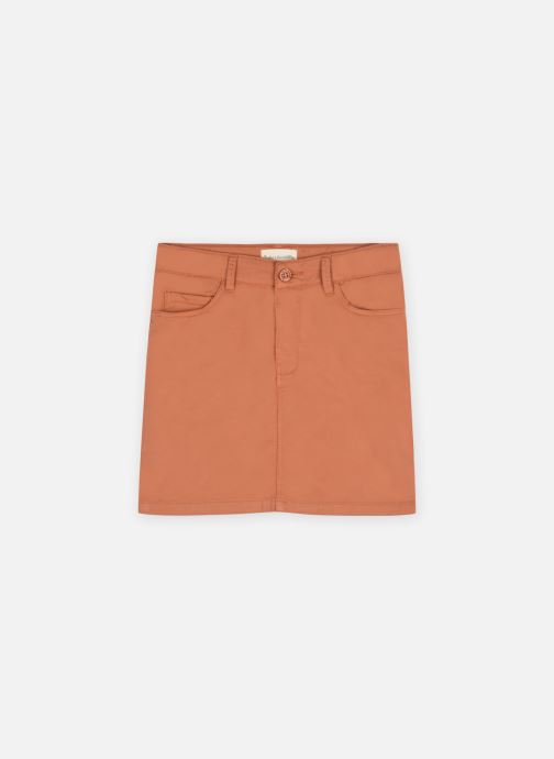 Jupe poches gabardine stretch