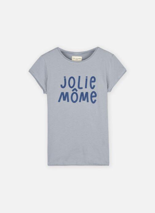 """Vêtements Arsène et les Pipelettes T-shirt MC """"Jolie môme"""" Bleu vue détail/paire"""