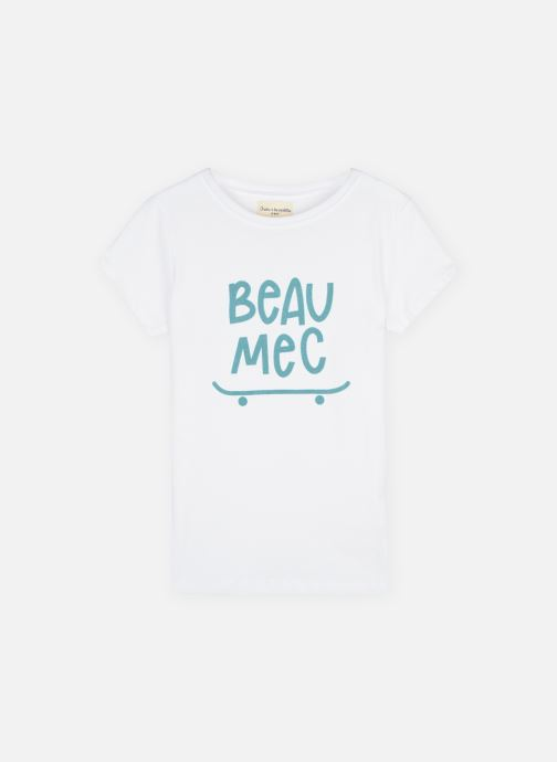 "Tøj Accessories T-shirt MC ""Beau mec"""