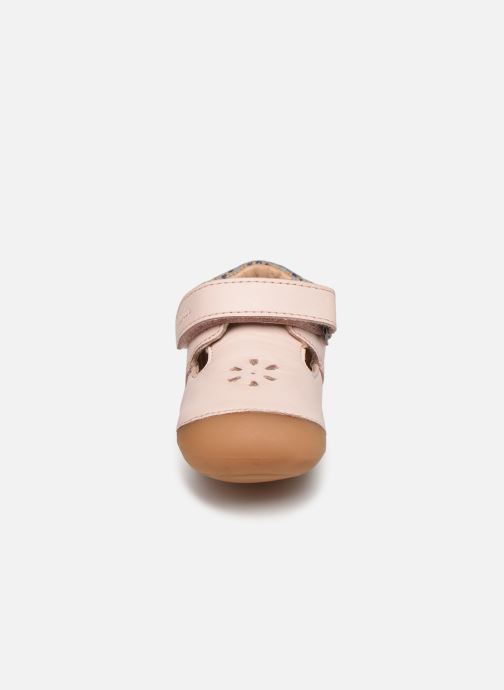 Ballerines Aster Kumbo Rose vue portées chaussures