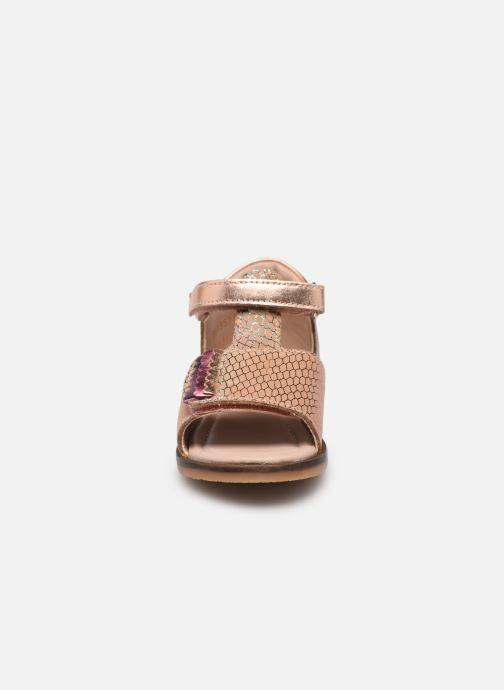 Sandalen Aster Noraldine rosa schuhe getragen