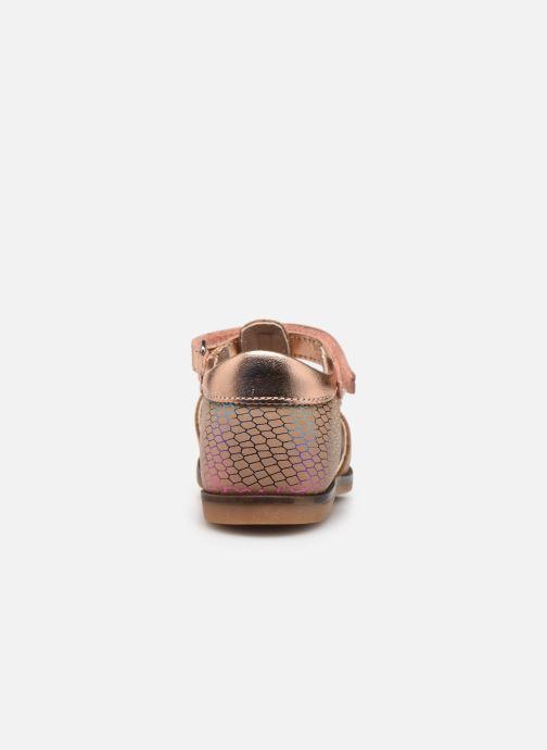 Sandalen Aster Noraldine rosa ansicht von rechts