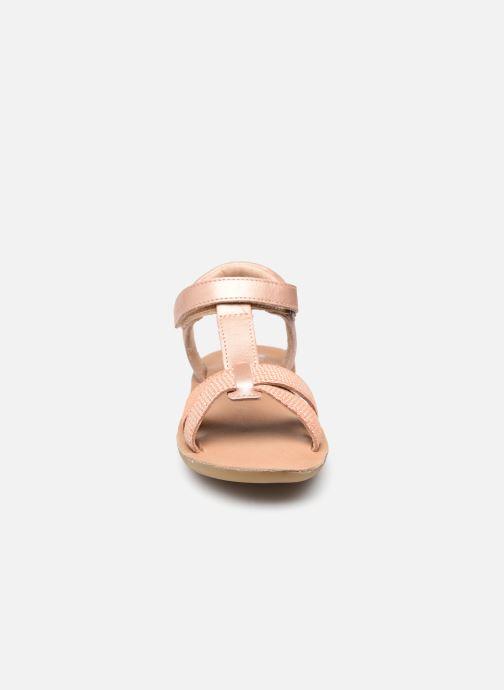 Sandalen Aster Terry rosa schuhe getragen