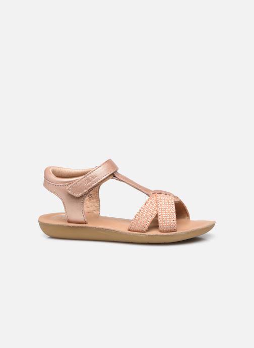 Sandales et nu-pieds Aster Terry Rose vue derrière