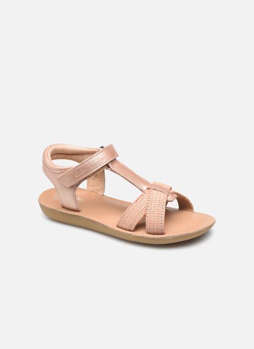 Sandales et nu-pieds Aster Terry Rose vue détail/paire