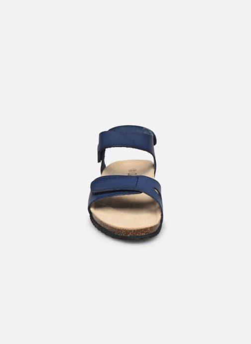 Sandalen Aster Banxou blau schuhe getragen