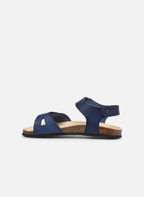 Sandalen Aster Banxou blau ansicht von vorne