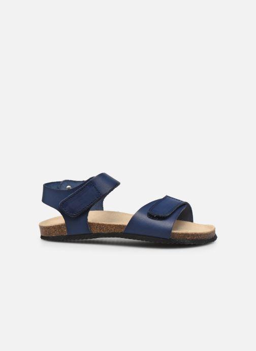 Sandalen Aster Banxou blau ansicht von hinten