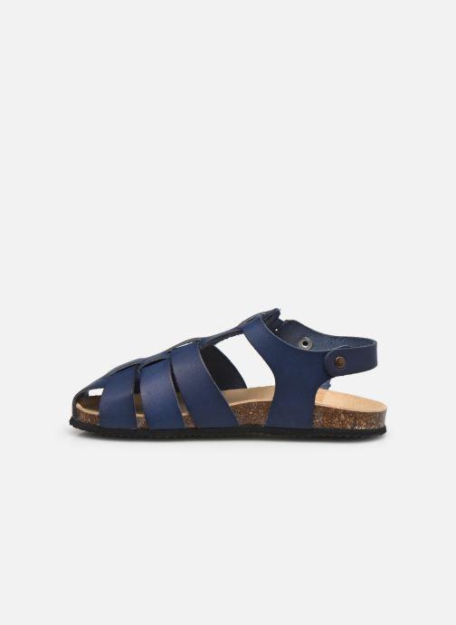 Sandalen Aster Bayoune blau ansicht von vorne