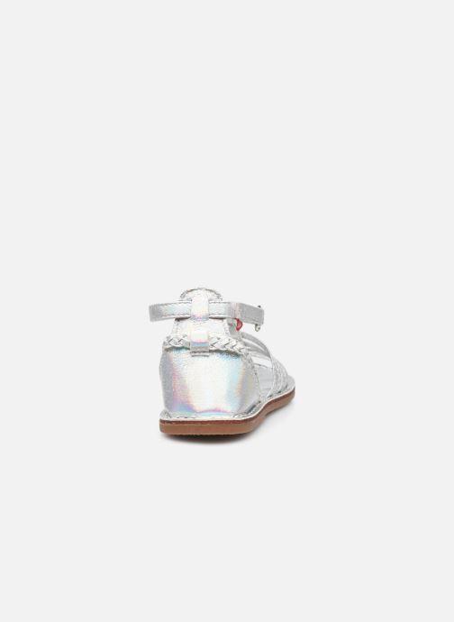 Sandalen NA! Adelicie silber ansicht von rechts