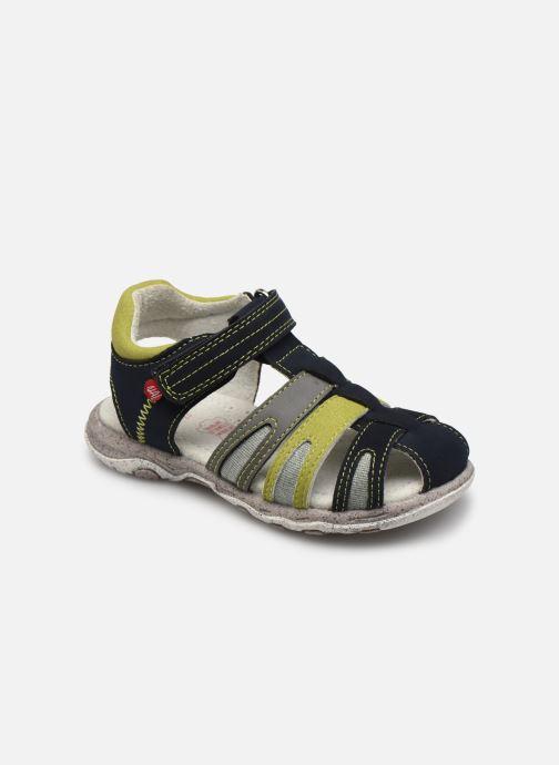 Sandales et nu-pieds NA! Asito Bleu vue détail/paire