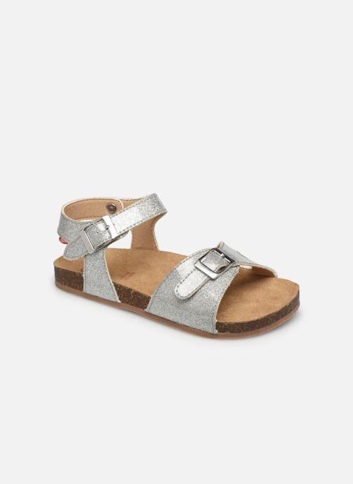 Sandales et nu-pieds NA! Acera Argent vue détail/paire