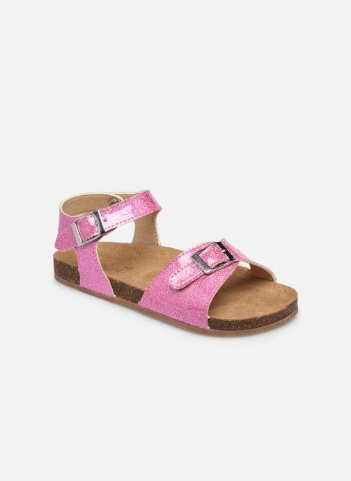 Sandales et nu-pieds NA! Acera Rose vue détail/paire