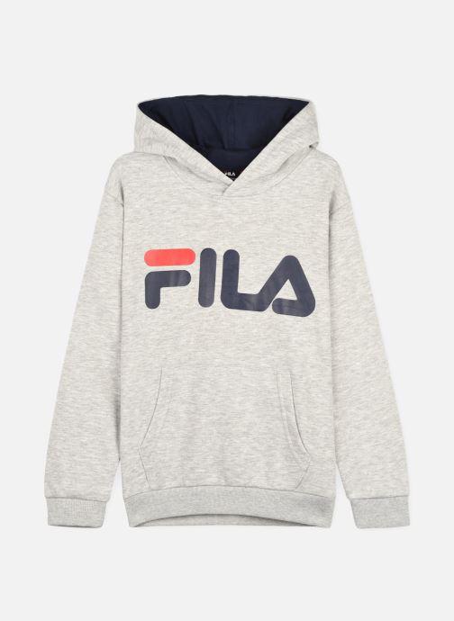 Vêtements FILA ANDREY classic logo hoody Gris vue détail/paire