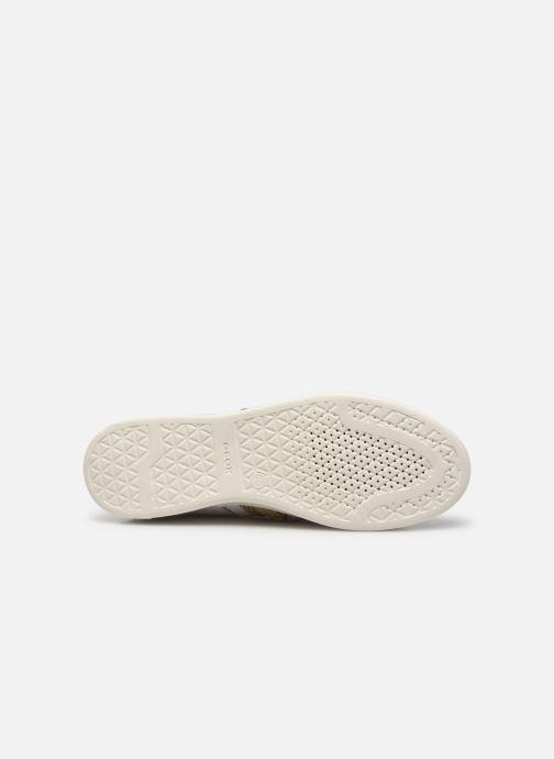 Baskets Geox JAYSEN Blanc vue haut