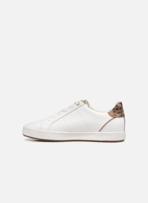 Sneaker Geox BLOOMIEE C weiß ansicht von vorne