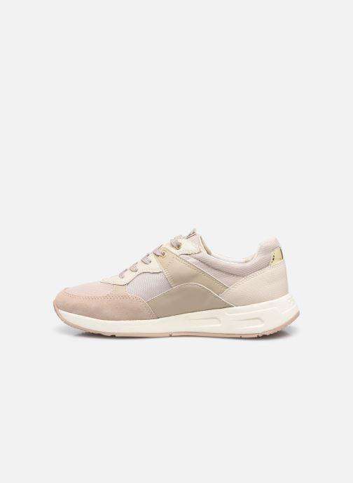 Sneakers Geox BULMYA B Beige immagine frontale