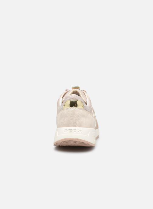 Sneakers Geox BULMYA B Beige immagine destra