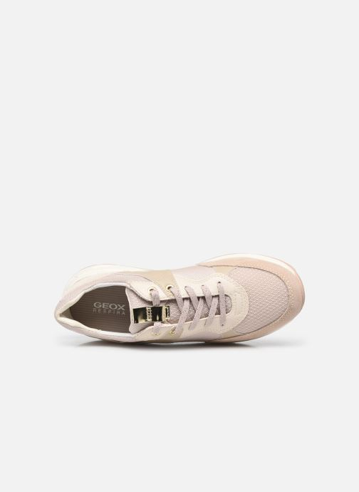 Sneakers Geox BULMYA B Beige immagine sinistra