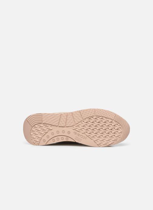 Sneakers Geox BULMYA B Beige immagine dall'alto