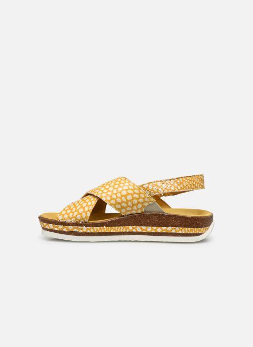 Sandali e scarpe aperte Think! Zega 686386 Giallo immagine frontale